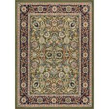 persa tabriz traditional oriental persian green 3 ft 11 in x 5 ft