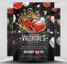 Valentines Flyers Valentines Ball Flyer Template 2 Flyerheroes