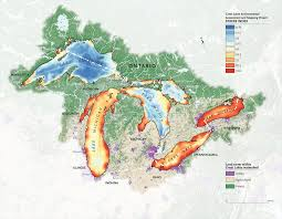 Mapping The Human Impact On The Great Lakes Canadian