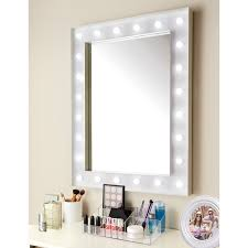 hollywood 24 led bulb mirror coated metal frame with battery operated led light bulbs complete with hooks ready for hanging warm white lights 24 led
