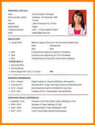 How To Make A Cv For Job How To Make A Cv For Teaching Job Platte Sunga Zette