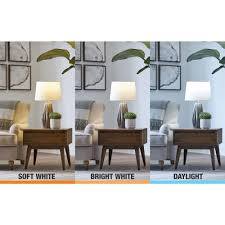 Daylight Vs Soft Light Bulbs Ecosmart 65 Watt Equivalent Br30 Dimmable Led Light Bulb