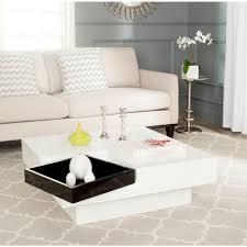 safavieh wesley white coffee table