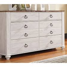 white washed wood dresser. Plain Washed Classic Rustic Whitewashed Dresser  Millhaven In White Washed Wood
