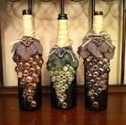 Оригинальный декор бутылок своими руками 113