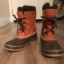 l l bean shoes women s ll bean leather snow boot size 7
