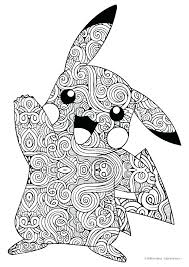 Pokemon Pikachu Coloring Pages Coloring Pages Color Printable And
