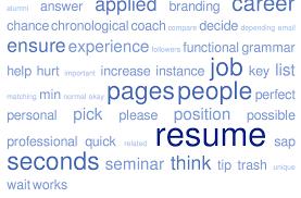 Update Resume Job Hunting Solution