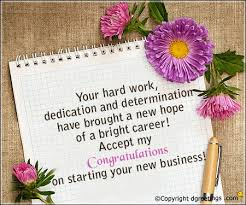 Congratulation For New Business Your Hard Work Business Congratulations Cards