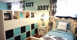 unfinished basement bedroom ideas. Creative Ideas \u2013 How To Decorate Basement Into A Beautiful Shared Bedroom On Budget Unfinished E