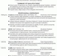International Broadcast Engineer Sample Resume 7 Engineering 16 ...