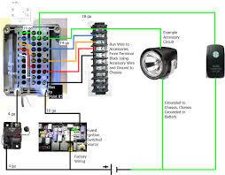 relay in a box wiring diagram relay wiring diagrams online custom relay and fuse box for accessories spod knockoff