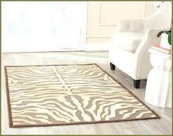 cool zebra print area rug clof co