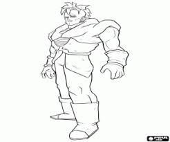 Dragon Ball Dragonball Coloring Pages Printable Games