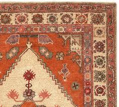 rug orange pottery barn persian carpet county