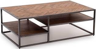 vanya wooden coffee table in light