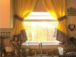 Beautiful Kitchen Valances Kitchen Beautiful Kitchen Curtain Designs Pictures With Green