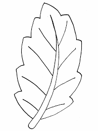 The coloring page is printable. Printable Leaf Coloring Home