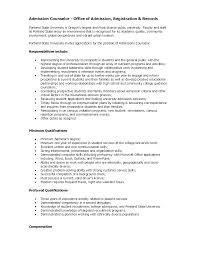Admissions Representative Sample Resume Magnificent College Admissions Representative Sample Resume Photos 6
