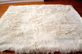 flokati sheepskin rug white rectangle rug faux fur sheepskin bedroom superior flokati sheepskin rug