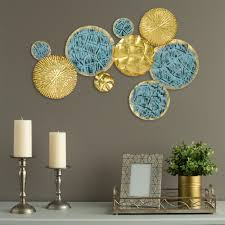 stratton home decor jewels of the sea metal plates wall decor on stratton home decor textured plates metal wall art with stratton home decor jewels of the sea metal plates wall decor s09576