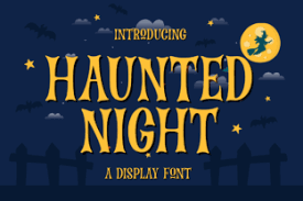 964,164 downloads (204 yesterday) 8 comments free for personal use. Haunted Night Font By Suby Store Creative Fabrica In 2020 Halloween Fonts Haunting Halloween Fun