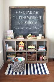 How To Manage Toy Organization When You Don T Have A Playroom Kids Room Organization Toy Rooms Playroom Organization