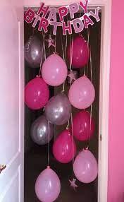 23 ideas birthday balloons bedroom
