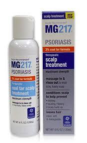 Amazon Com Mg217 Psoriasis 3 Coal Tar Therapeutic Scalp Treatment