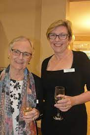 NOOSA DOMAIN: Beverly Takken with Noosa Domain Village manager Heather ...  | Buy Photos Online | Observer