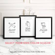 home design bathroom wall art and decor ideas cool funny lent interior designs full size kitchen inexpensive interesting paintings murals bath vintage