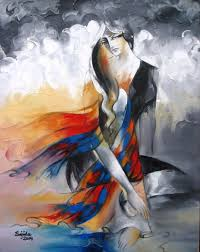 stani artists paintings stani art abstract figurative oil painting by stani fine artist