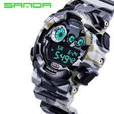 compare prices on s shock watch online shopping buy low price s brand military watch sport army camouflage mens watches led digital watch s shock waterproof wrist