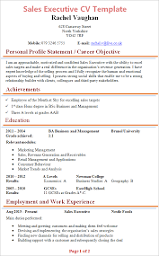 Simple Cv Examples Uk Cv Examples Example Of A Good Cv Biggest Mistakes To