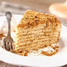 Medovik Honey Layer Cake Recipe