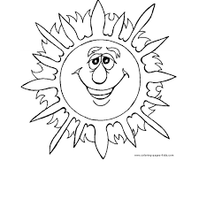 Summer coloring pages for all ages. Free Printable Summer Coloring Pages For Kids