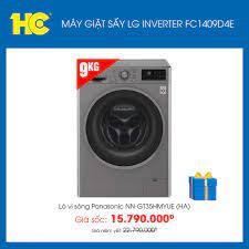 Siêu Thị Điện Máy HC - Máy giặt sấy LG Inverter 9 Kg FC1409D4E lồng ngang  👉 Mua ngay tại: https://hc.com.vn/ords/p--may-giat-lg-fc1409d4e ☎ Hotline  1800 1788 💧 Số lượng có hạn! Sản phẩm