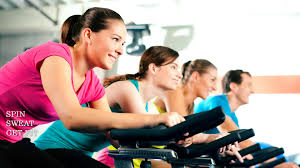 motivational fitness spin sweat and get fit