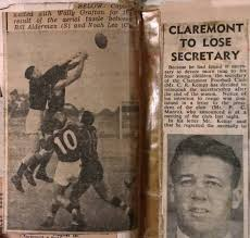 Early 1950s Photo Ken Caporn and Noah Lee – Claremont Football Club History