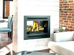 double sided wood burning fireplace indoor outdoor indoor outdoor fireplace two sided wood burning fireplace two