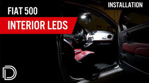 Fiat 500 Interior Light Bulb How To Install Fiat 500 Interior Leds