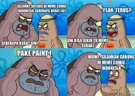Selamat datang di MEME comic indonesia, Seberapa hebat lo ... via Relatably.com