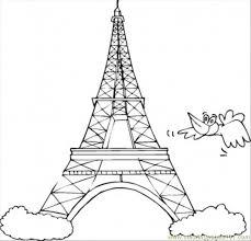symboloffrance_kisdz paris france coloring pages printable coloring pages on paris map printable