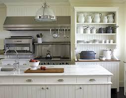 Farm Kitchen Design New Popular Farmhouse Style Kitchen With White Marble White Wainscoting