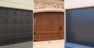 steel garage doors vs wood vs
