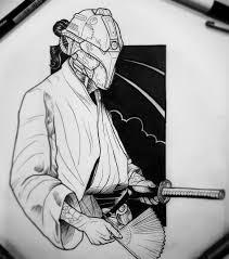 эскизы самураев значение татуировки с самураем