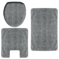 grey bath rugs light gray rug set and towels purple bathroom