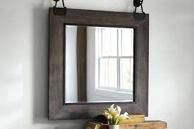 pottery barn wall mirrors studio mirror