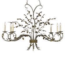 raintree oval chandelier by currey company