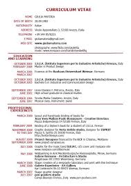 Functional Resume Template Pdf Sample Cv 9 Documents In Word All